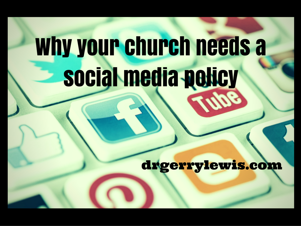 Why your church needs asocial media policy