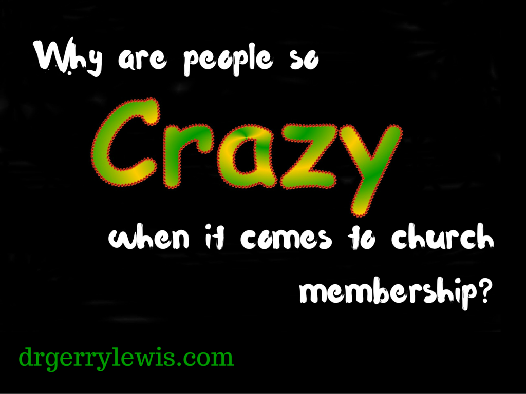 crazy church membership