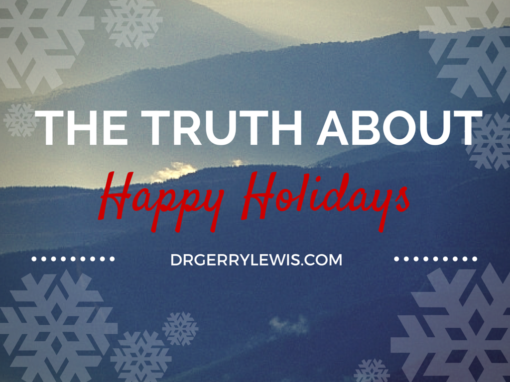 the truth about holidays The truth about holiday spirits how to celebrate safely this season we all want to celebrate during the holidays, and more people are likely to drink beyond their limits during this season than at other times of the year.