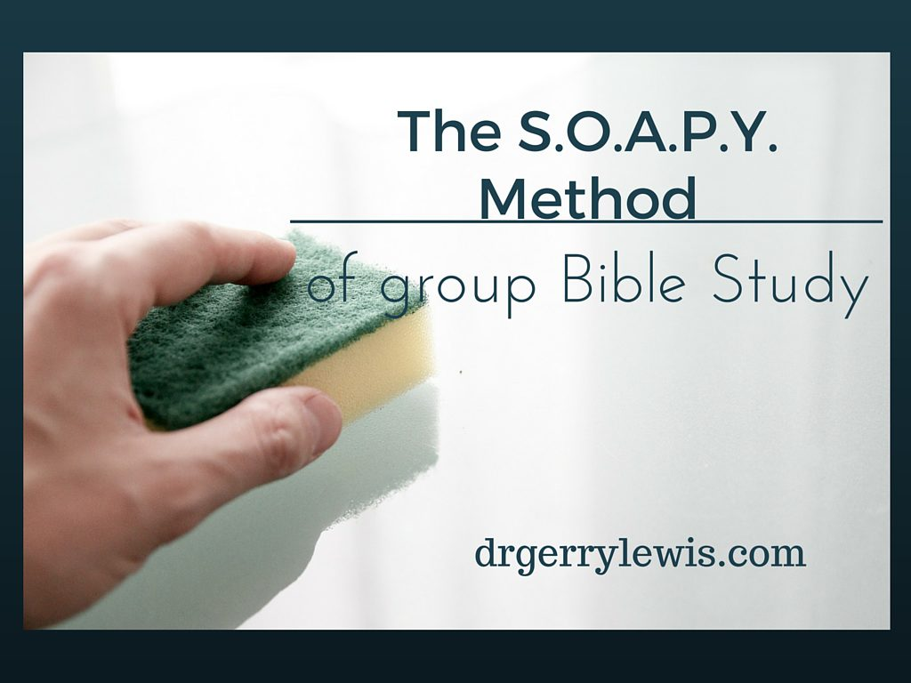 The S.O.A.P.Y. Method